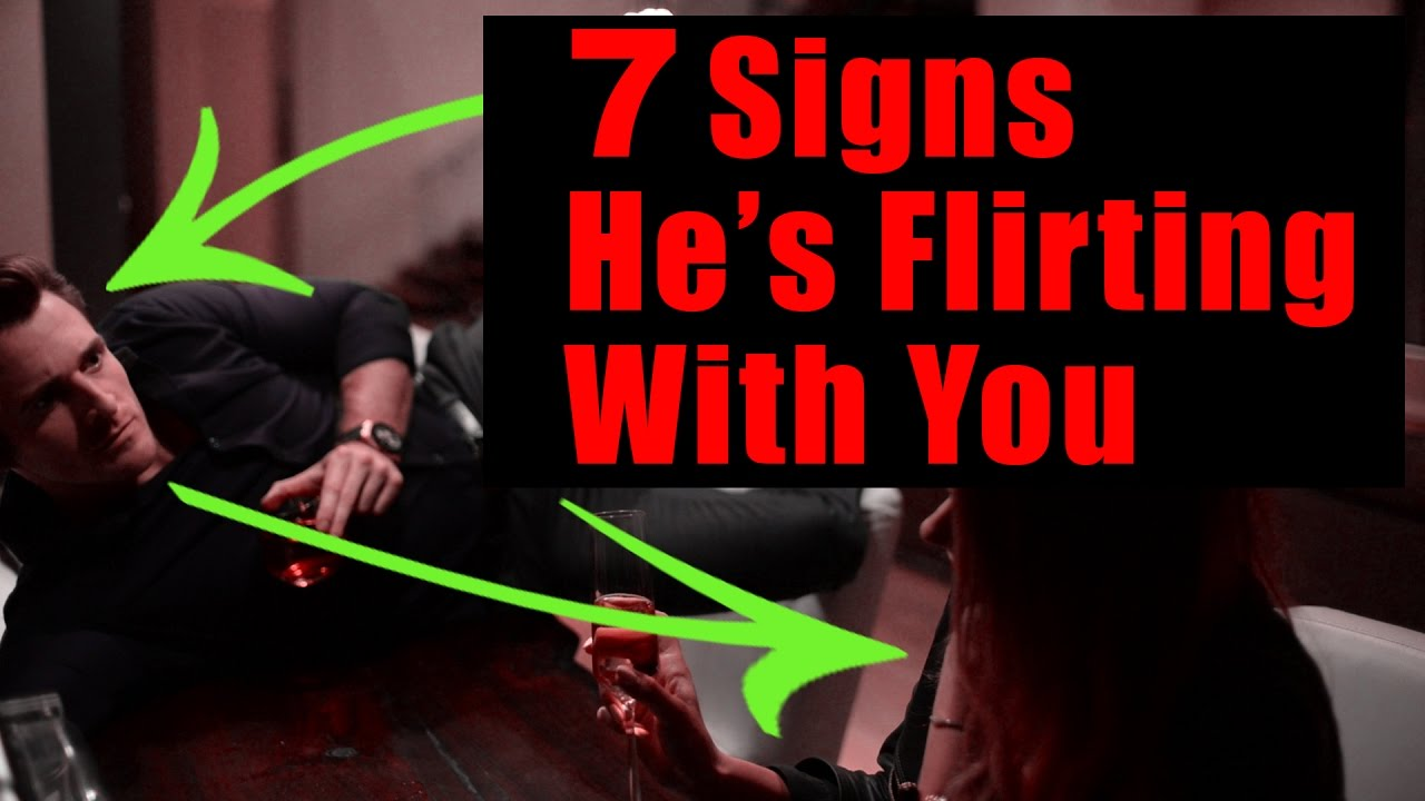 Signs Someone is Flirting with You